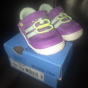 Stride Rite Little Girls Tennis Shoes